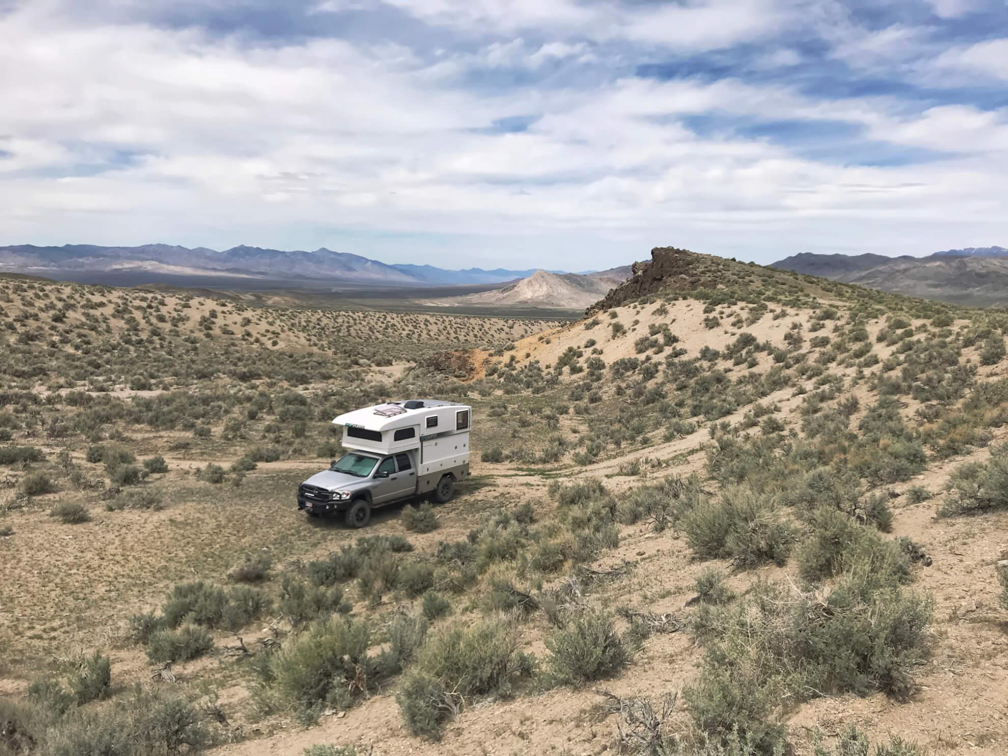 Earthquake Fault Road Nevada