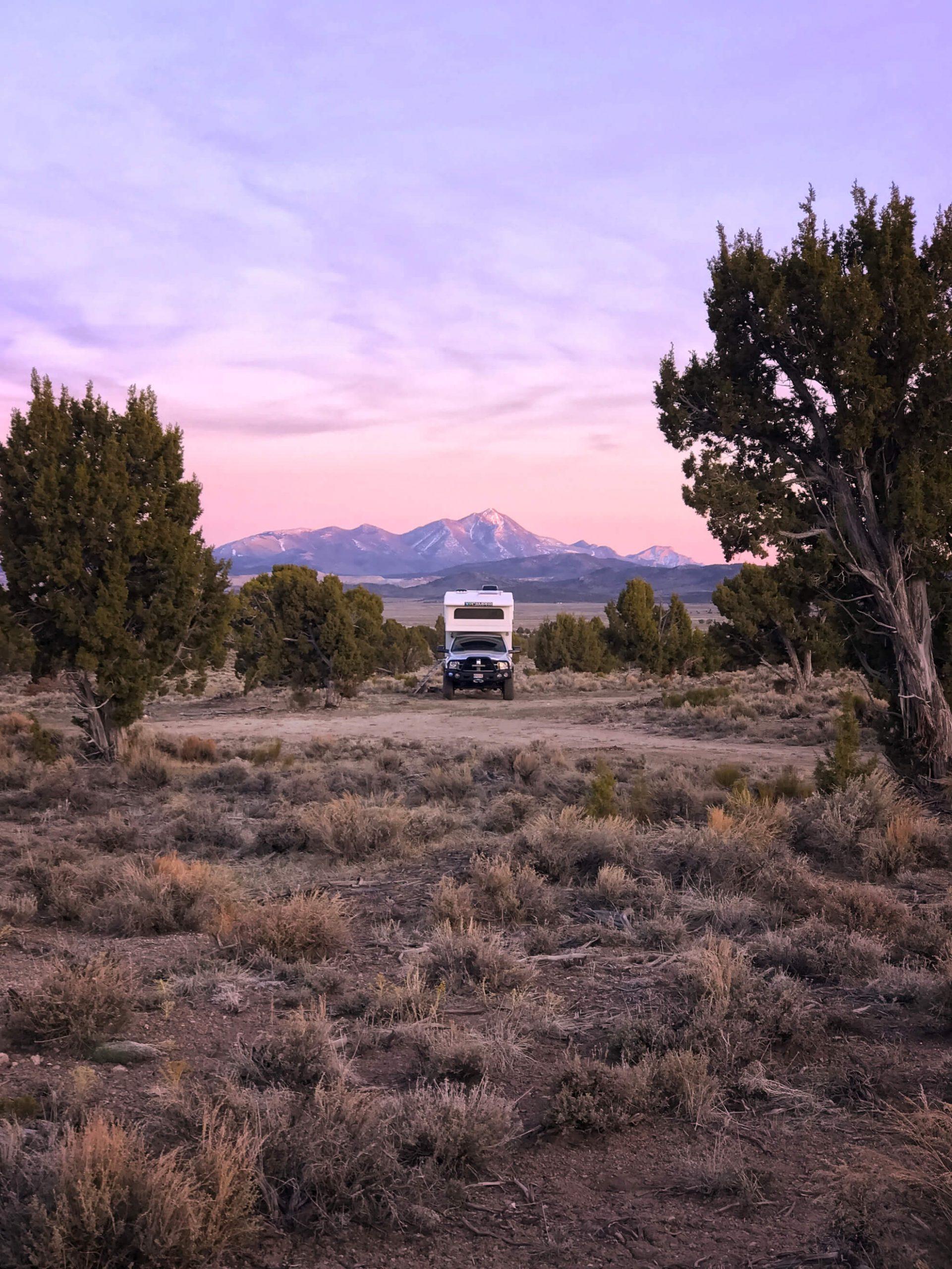 Ely Nevada Camping